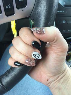 Harry Potter nail art.