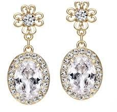 vintage drop earrings - Google Search