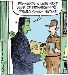 Frankenstein - UPS Guy