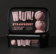 Creative Agency: Snask  Factory photography:Per Björklund and Philip Tolgén  Photography of ice cream scoops: Wolfgang Kleinschmidt  Food ...