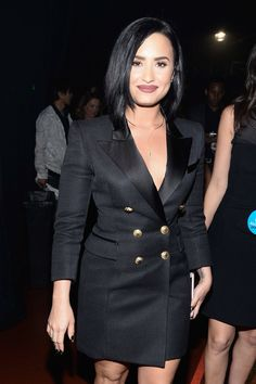 Demi Lovato at the iHeartRadio Music Awards - April 3rd