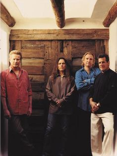 Don Henley + Timothy B Schmit + Joe Walsh + Glenn Frey = The Eagles