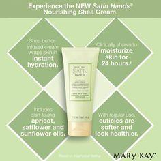Satin Hands Hand Cream www.marykay.ca/megane
