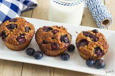 Egy jó muffinra mindig nyitott vagyok, viszont paleo verzióra eddig nem vol Healthy Filling Snacks, Healthy Muffins, Yummy Snacks, No Dairy Recipes, Healthy Recipes, Paleo Food, Fun Snacks For Kids, Health Breakfast, Afternoon Snacks