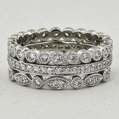 Diamond Ring Stack (over 1 ct.tw.), $3,675