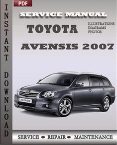 toyota avensis service manual free download #1 Toyota Avensis, Illustrations, Repair Manuals, Engineering, Photos, Car, Free, Cars, Pictures