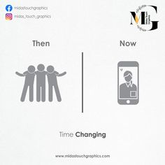 Then And Now Posters Perfectly Relates How Life Has Changed For This New Generation. Online Marketing Services, Facebook Marketing, Social Media Marketing, Digital Marketing, Social Campaign, Social Advertising, Social Media Graphics, Web Development, A Team