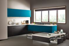 Learn about different styles, shapes and layouts of Kitchen Design, kitchen arrangement and visualize the way you want your kitchen to be. At Vijayawada Kitchen we design your kitchen based on your requirements, available kitchen dimensions.