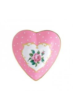 Cheeky Pink Heart Tray royal albert