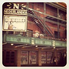 Newsies on Broadway, at the Nederlander theatre