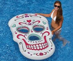 Skull pool float! (Click for price)                                                                                                                                                                                 More