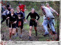 """Run for Your Lives"" 5k marathon/ obstacle course with zombies chasing you!!! Omg I sooo wanna do. This!!!"