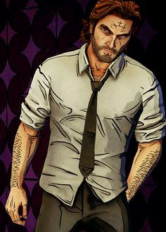The Wolf Among Us Bigby Wolf