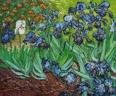 Pinturas de Van Gogh lirios