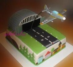 Airplane Birthday Cakes, 5th Birthday Cake, Airplane Party, Airplane Cakes, Birthday Ideas, Planes Cake, Planes Party, Army Birthday Parties, Military Party