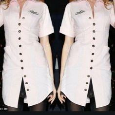 Agent Provocateur Pink Uniform Dress Size 14 · $120.00 Uniform Dress, Shirt Dress, Festool Sander, Agent Provocateur, Size 14 Dresses, Chef Jackets, Pink, Shirts, Fashion