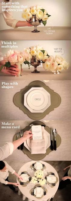 Tablescape Design Tips
