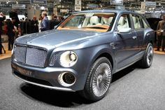 Bentley SUV Bentayga Concept, Technological Features, Performance