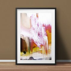 Abstract Painting modern wall art hand painted by DanHobdayArt