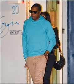 Jay Z In the Pullover Hoodie