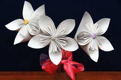 Large kusudama flowers