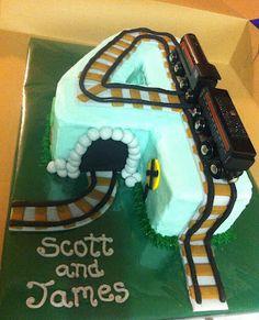 "Cakes by Mindy: Train Cake 9"" x 13"""