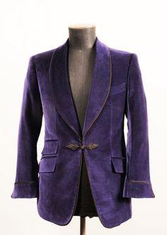 IMPERIA, velvet smoking jacket. Cifonelli: Contemporary bespoke