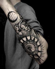Картинки по запросу cool line work tattoos #UltraCoolTattoos