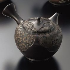 Rakuten: 舜園 15 black dot form pine, bamboo, and plum teapot [fs01gm]- Shopping Japanese products from Japan