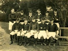 Essendon Baseball Team, date unknown.