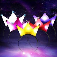 Light-Up princess tiara crown Headband LED Blinking Flashing Birthday Child CL51 #UnbrandedGeneric
