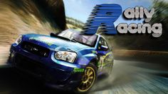 Splash Screen of rally racing