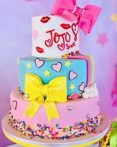 Chocolate and ricotta cake - HQ Recipes Jojo Siwa Birthday Cake, 7th Birthday Cakes, 5th Birthday Party Ideas, Girl Birthday Decorations, 4th Birthday, Barbie Birthday, Cupcakes, Cupcake Cakes, Girl Cakes