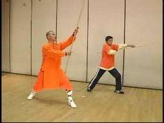 ▶ Kung Fu Weapon Training & Meihuaquan : Kung Fu Bo Staff Moves 13-18 - YouTube