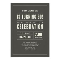 17 best adult birthday invitations images on pinterest birthday big type 60th birthday invitations filmwisefo