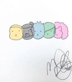 Mitch`s drawing<<I didn't know he could draw! This is so cute!