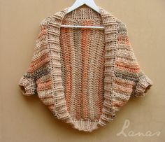 Lanas de Ana: Sunset Shrug