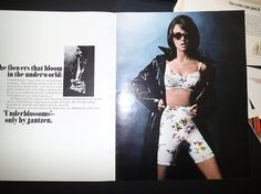 1967 Lingerie Ad 2-pages Jantzen Underblossoms by saffronfields