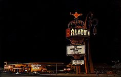 Aladdin's original sign in 1966.