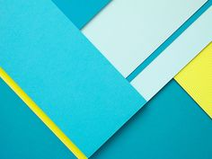 Shoot paper, and shapes and colors -- Carl Kleiner