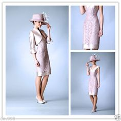 Lace Mother Of The Bride Dresses Free Jacket Women Formal Occasion Dresses 2015