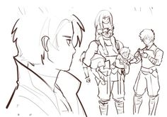 Erraday - Ninjago doodles