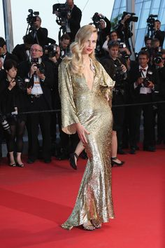 2015 Cannes Film Festival - Poly in custom Michael Kors