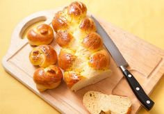 Bread - this is the recipe I use - with half whole wheat flour and half regular!  Delicioso!!  And good shabbos!!!