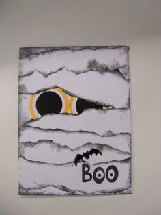 Fun Halloween Mummy Card by Mamaof3CraftSupplies on Etsy, $3.50