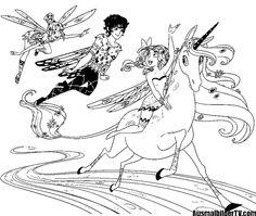 las 8 mejores imágenes de mia and me coloring free | unicornios para pintar, dibujos de colores