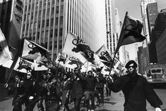 Learn the history of Black Power, the Black Panther Party, and the movement's influence on the arts and its impact on today's social equality issues. Black Panther Party, Black Power, Black Panthers Movement, Places In New York, Angela Davis, The New Wave, Aktiv, Black People, Picture Show