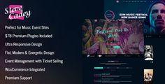 Steve Cadey - WordPress Music Theme For Musicians, DJs, Bands / Solo Artists  -  https://themekeeper.com/item/wordpress/steve-cadey-wordpress-music-theme