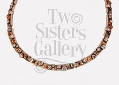 "Beautiful ""Fusion"" necklace http://www.two-sisters.com/collections/patricia-locke/products/fusion-necklace"