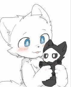 Anime Furry, Cat Character, Character Design, Demon Wolf, Pikachu Art, Cute Couple Drawings, Anthro Furry, Fox Art, Dark Anime